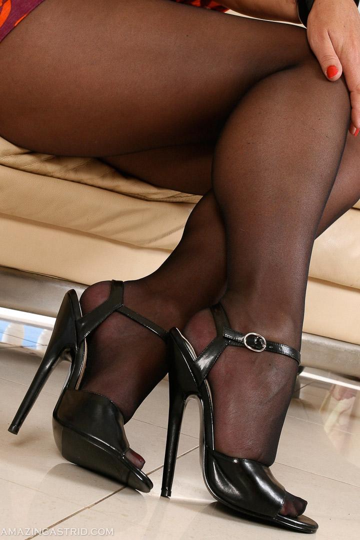 эротическая фотография fetish stockings pantyhose
